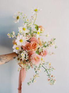 Spring Wedding, Garden Wedding, Summer Wedding Bouquets, Wild Flowers, Beautiful Flowers, Beautiful Bouquets, Floral Wedding, Wedding Flowers, Wedding Flower Inspiration
