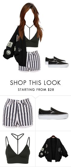"""""""135."""" by troxelltina02 ❤ liked on Polyvore featuring Vans, Oh My Love and WithChic"""