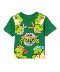 Look what I found on #zulily! Green TMNT Manhole Cover Tee - Infant & Toddler by Teenage Mutant Ninja Turtles #zulilyfinds