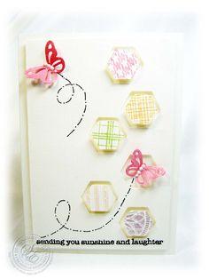 StitchyStamper: Scattered Hexagons..........................