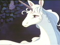 The Last Unicorn.  Required birthday party watching when I was younger.