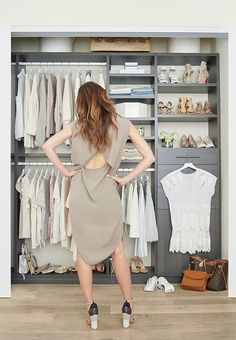How to Unclutter your Closet - great post explains how to clear out the clothes that don't fit properly, don't suit your lifestyle, you don't love, etc. - via Popsugar