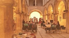 Exclusive folklore performance for Viking Star guests in Sponza palace in Dubrovnik.  #AdriaticDMC #dubrovnik #VikingOceanCruises #folklore #FALindo #Sponza #VikingStar  www.AdriaticDMC.hr