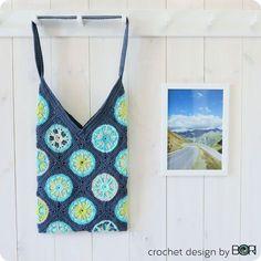 Blue Mountain Crochet Bag Pattern