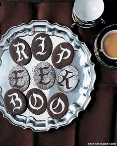 halloween cookies via martha