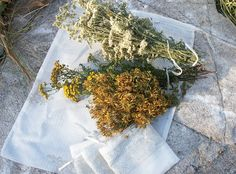 Herbal Collecting and Drying Bags by EarthMoonandStars on Etsy, $8.00