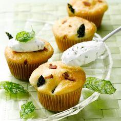 Savory & Sweet Bacon Asparagus http://www.premiercustomtravel.com/cruises/royalcaribbean.html #Travel #Cruising #RoyalCaribbean #Cupcakes. #dining #desserts