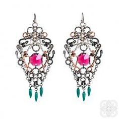 Jewelery, Handmade Jewelry, Glamour, Drop Earrings, Blue, Collection, Fashion, Jewlery, Moda
