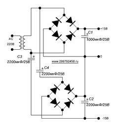 This is the circuit diagram of 0-60V / 0-2A variable power
