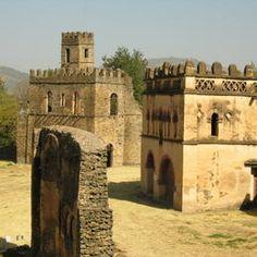 Francesco Bandarin captures Fasil Ghebbi, Gondar (Ethiopia's capital 17th - 19th centuries).