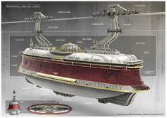 Transatlantic gondola by Gian Andri Bezzola