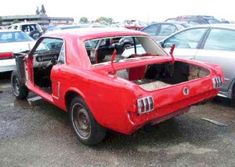 1965 Ford Mustang Coupe - Stolen and Stripped 1965 Mustang, Ford Mustang Fastback, Ford Mustang For Sale, Project Cars For Sale, 1967 Shelby Gt500, Custom Muscle Cars, Classic Car Insurance, Dream Cars, Mustangs
