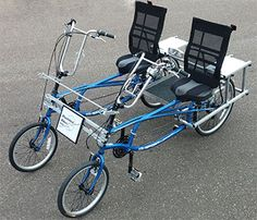 Prices for Blackbird Bikes EZ Quadribent side by side recumbent bicycles tandem bikes for two people accessories parts options recumbents 4 Wheel Bicycle, Bicycle For Two, Tandem Bicycle, Recumbent Bicycle, Tricycle Bike, Bike Equipment, Quad Bike, Cargo Bike, Pedal Cars
