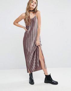 Glamorous | Glamorous - Robe caraco longue plissée