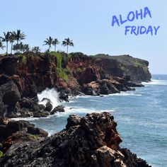 Aloha Friday!  This is Kauai's rocky south coast, seen from the Maha'ulepu Trail. Come stay with us!