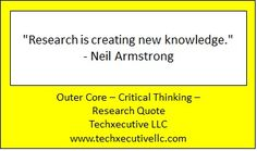 Critical Thinking Quotes, Outer Core, Neil Armstrong, Coaching, Knowledge, Training, Facts