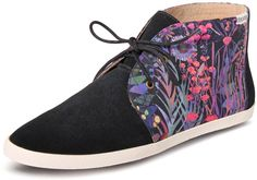 The perfect print fashion sneaker for fall from Soludos