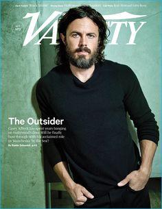 Casey Affleck covers Variety magazine.