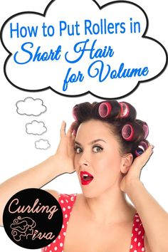 If you have short hair, hairstyling can be quite a challenge. Because it's sho… If you have short hair, hairstyling can be quite a challenge. Because it's sho…, Short Hairstyles Fine, Haircuts For Fine Hair, Sleek Hairstyles, Prom Hairstyles, Hairdos, Short Hair Waves, How To Curl Short Hair, Tight Curls, Soft Curls