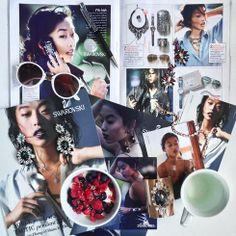 'Sparkle Party' from @Margaret Martinez Zhang ft.  #Swarovski #genius