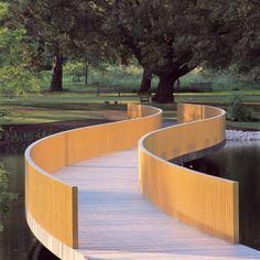 landscape bridge   john pawson