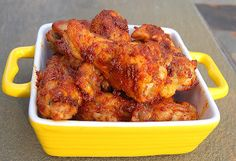 My husband, like most men I know, is crazy for chicken wings! Buffalo, sweet & spicy, BBQ, you name it…he'll take 'em! There is a place in the next town, right next to my daughters dance school, that offers about 30 flavors of wings, among them a Cajun wing flavor…his favorite. Whenever my husband takes... Read more