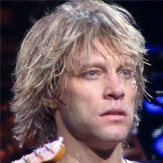 Jon Bon Jovi...that look makes women melt!
