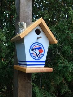 All of my birdhouses are personally hand built with 1/2 sign board (Plywood). My roofs and bases are 3/4 Clear Cedar.They are glued and nailed. I