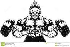 ผลการค้นหารูปภาพสำหรับ cartoon version bodybuilder