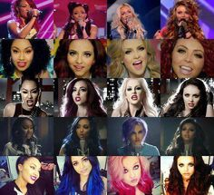 Little Mix's hairstyles! :)