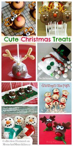 Cute Christmas Treats #christmaswww.momsandmunchk...