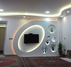Top 50 Modern TV Stand Design Ideas For 2020 - Engineering Discoveries units design living areas modern Lcd Wall Design, House Ceiling Design, Ceiling Design Living Room, Bedroom False Ceiling Design, Modern Ceiling Design, Wall Unit Designs, Living Room Tv Unit Designs, Tv Stand Modern Design, Stand Design