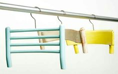 Chair back hangers
