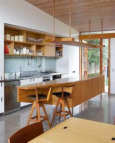 Outdoors brought inside balanced beach house
