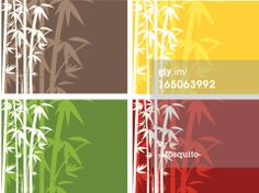 Vector Art : Simple bamboo background
