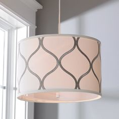 Young House Love Moroccan Shade Pendant cream_and_silver
