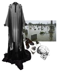 """""""from the mists"""" by amerisal on Polyvore featuring Gucci, Elie Saab, Veronique Branquinho, River Island and But Another Innocent Tale"""