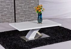Home Genies- Home and Garden products: Coffee Tables - Glass & High Gloss