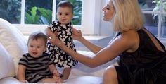 Bianca Rinaldi com as filhas Beatriz e Sofia
