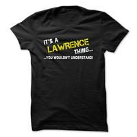 Its a LAWRENCE thing... you wouldnt understand!
