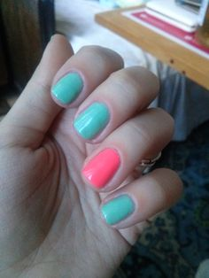 perfect nails for spring time