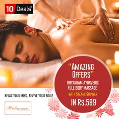 Relax your Mind & Stand out of the crowd this #Winter with #money #saving deals on #Body Massage in Rs.599 Only at #Rediscover #Salon & #Spa  Avail this offer here: http://bit.ly/Rediscover-body-massage  #BeautyDeals #WinterDeals #BeautyServices #SalonDeals  #MassageBody