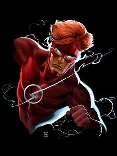 Dc Speedsters, Flash Barry Allen, Wally West, Kid Flash, Fastest Man, Young Justice, Dc Comics, Nerdy, Speed Force