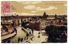 Amsterdam Stadhouderskade ingang Vondelpark, 1900