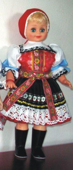 Panenky - 45 cm - mrkací | Kyjov - 45cm | Krojované panenky