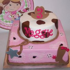 Lily's cowgirl cake!