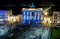 Brandenburger Tor /// Brandenburg Gate @ Berlin FESTIVAL OF LIGHTS 2010 (c) Festival of Lights / Christian Kruppa  #Berlin #FestivalofLights #BrandenburgerTor #BrandenburgGate