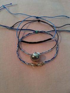 Bracelet perle + bouton