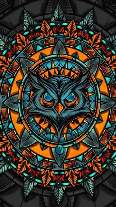 10 Amazing Owl Artwork Creativity Next Level Graffiti Wallpaper Iphone, Phone Screen Wallpaper, Cellphone Wallpaper, Handy Wallpaper, Dark Wallpaper, Hanya Tattoo, Owl Artwork, Hd Phone Wallpapers, Samurai Art