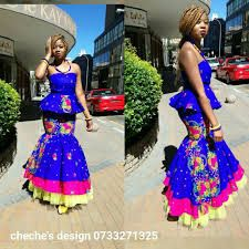 Image result for tsonga traditional dresses African Dresses For Women, African Print Dresses, African Print Fashion, African Fashion Dresses, African Wedding Attire, African Attire, Traditional Fashion, Traditional Outfits, African Wear Designs